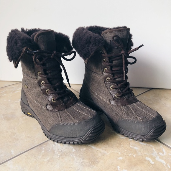0d9c4d1420a UGG Adirondack II Wool Lined Waterproof Snow Boots